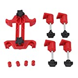 Timing Tool, Universal Dual Cam Clamp Camshaft Sprocket Gear Locking Engine Timing Tool Kit