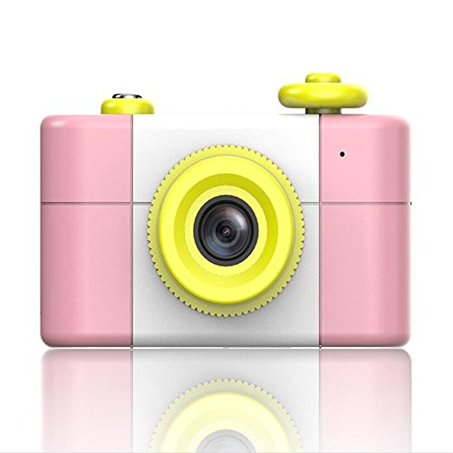Ocamo Children Kids Cute Mini Digital Camera Retro Style Photography Portable Camera (No Memory Card) Pink by Ocamo