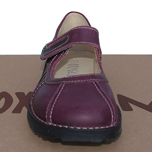 Down Shoe Aubergine Rostock Oxygen Leather Stitch xnw6ETHv