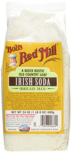 Irish Soda Bread (Bob's Red Mill Bread Mix Irish Soda Bread Mix, 24-Ounce (Pack of 4))