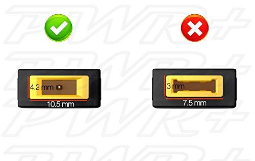 Pwr+ 5 Pack Lenovo Tip Adapter Connector Converter Lenovo Thinkpad Round 7.7mm to Slim Square Lenovo Yoga Ideapad Dongle: 0b47046 0b47048 ADLX45NCC2A ADLX45NLC2A ADLX45NLC3 ADLX45NLC3A Dongle Laptop