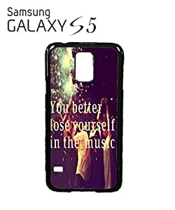 Loose Yourself in the Music Mobile Cell Phone Case Samsung Galaxy S5 White