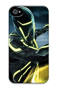 3D PC Back Case Cover for iPhone 4 Hard Shell Skin for iPhone 4 with Super Hero