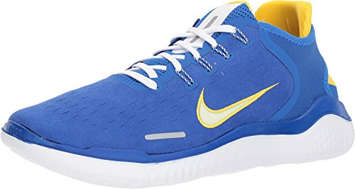 newest 19e5b dfa17 Galleon - NIKE Free Rn 2018 Size 12 Mens Running Hyper Cobalt Citron  Tint-White Shoes