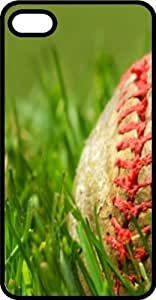Baseball Laying On The Grass Field Tinted pc For SamSung Galaxy S6 Case Cover