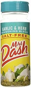 Mrs Dash Garlic & Herb Seasoning Blend Salt-Free 6.75oz (1)