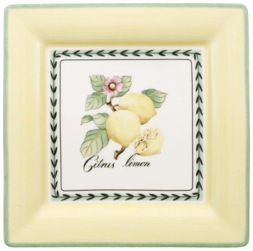 French Countryside Square Dinner Plate - Villeroy & Boch French Garden 10-1/2-Inch Square Dinner Plate