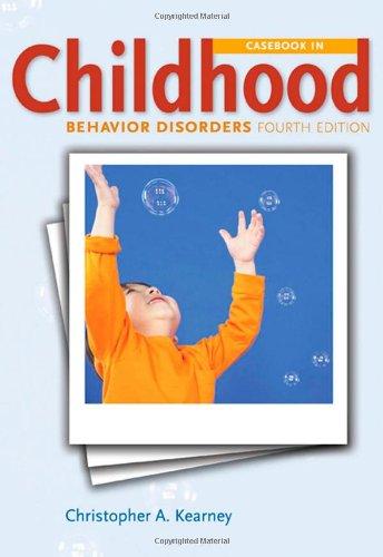 Casebook in Child Behavior Disorders