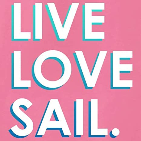 Kids Hoodie 9 Colours 1-13 Years Live Love Sail