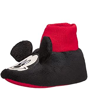 Mickey Mouse Face 235 Slipper (Infant/Toddler)