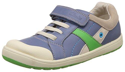 Clarks garçons extra-scolaire Maltby POW Inf en cuir Chaussures en denim