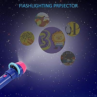 xiangpian183 Kids Projector Story Flashlight - Juguete para ...