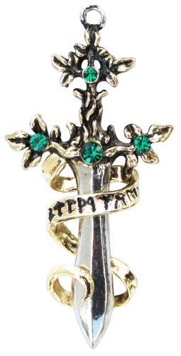 Lost Treasures of Albion Sword of Sherwood for Bravery & Generosity Pendant Charm Amulet Talisman