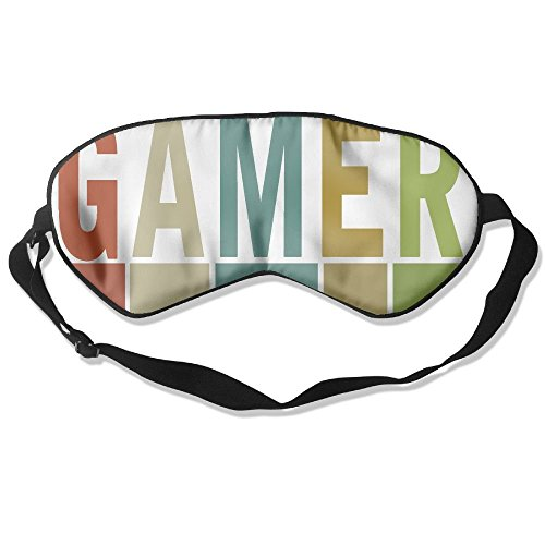 Sleep Mask Gamer Game Eye Cover Blackout Eye Masks,Soothing Puffy Eyes,Dark Circles,Stress,Breathable Blindfold by MB32
