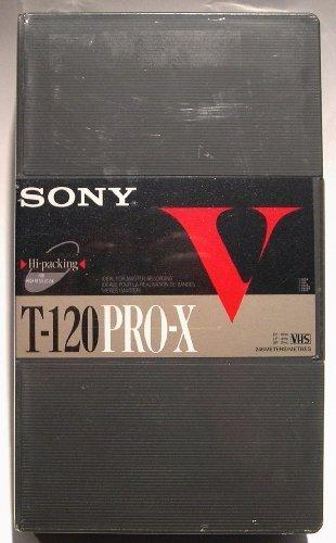 Sony V T-120 Pro-X VHS by Sony