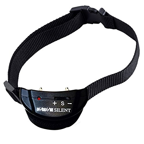 Dog Bark Collar | Shock Collar For Dogs 10-120 Pounds | 7 Level Adjustable Sensitivity | No Bark Electronic Anti Bark Dog Training Collar | BONUS Extra Battery Included! (Dial Adjustment PET-852-01)
