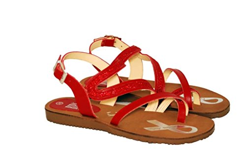 Sandalen Sandaletten aus Leder Schuhe Damen RIPA shoes - 59-2575