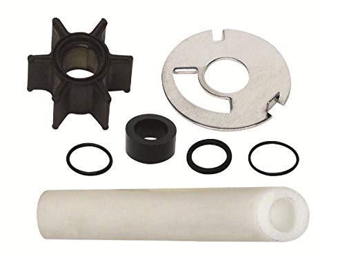 GLM Water Pump Impeller Kit for Mercury 4, 4.5, 6, 7.5, 9.8 hp with .456