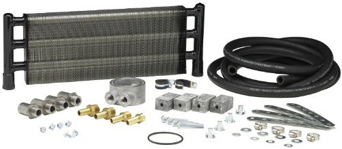 Hayden Automotive 1040 Swirl-Cool Engine Oil Cooler Kit (91 Honda Civic Engine)