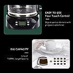 Aigostar-Benno-30QUJ-Macchina-da-caffe-americano-e-te-da-800-W-con-filtro-riutilizzabile-e-piastra-riscaldante-con-mantenimento-calore-capacita-15-L-timer-24-ore-sistema-antigoccia-Nero