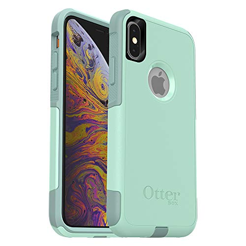 - OtterBox COMMUTER SERIES Case for iPhone Xs & iPhone X - Retail Packaging - OCEAN WAY (AQUA SAIL/AQUIFER)