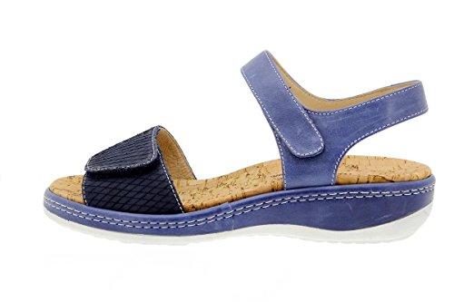 Cuir À Chaussure Confortables Femme Marino Sandales Semelle 1909 Confort Piesanto Amovible Amples En 0pSIgq
