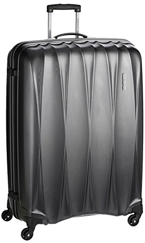 American Tourister Polycarbonate 79 cms Gun Metal Hardsided Suitcase (38W (0) 58...