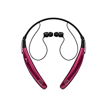 LG Tone Pro 770 Bluetooth Wireless Stereo Headset - Pink