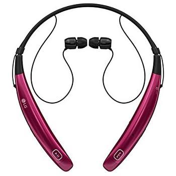 lg headset. lg tone pro hbs-770 wireless stero headset - pink lg i