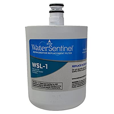 WaterSentinel WSL-1 Refrigerator Replacement Filter: Fits LT-500P Filters