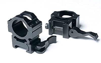 FMT® RTAC Quick Release Scope Rings / Quick Release Scope Mount Rings (Scope Mounts / Picatinny Scope Rings / 1 Inch Scope Mount Rings / 1 Inch Scope Rings / Quick Detach Scope / Scope Rings 1 Inch) from FMT
