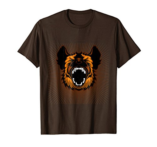 Chaos Beast Men - Mens Creative Chaos - Hyena Combat Tee Small Brown