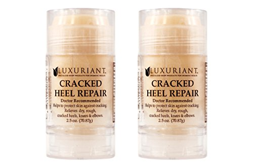 - Cracked Heel Repairs formulated with FDA Natural Ingredients two 2.4 oz bottles