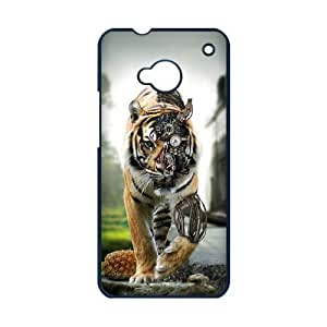 meilz aiaiAwesome Tiger Design Framework Cool Hard Case Cover for H One M7meilz aiai
