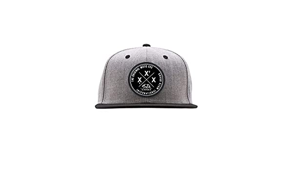 1dc7da795e8 Amazon.com  Moto XXX International Snapback Hat  Automotive
