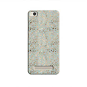 Cover it up - Brown Cyan Pebbles Mosaic Redmi 4A Hard Case
