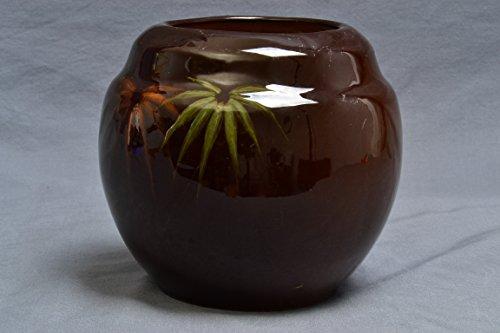 (Cambridge Pottery Planter with Palms (Shape 225) 1895-1917 )