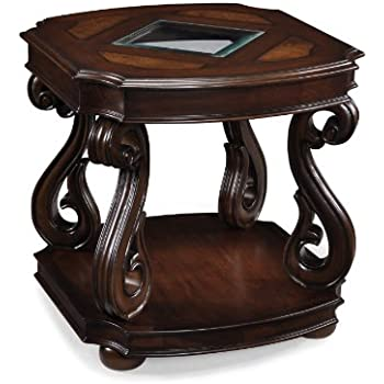 Magnussen T1648-03 Harcourt Cherry Finish Wood Rectangular End Table