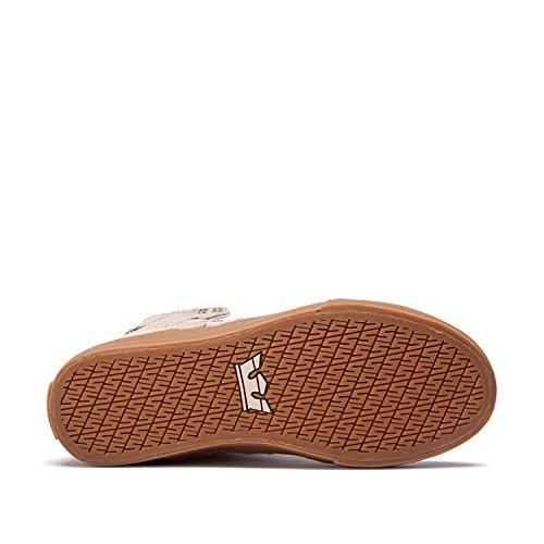 Supra Womens Sneaker Skytop Tan - Gomme
