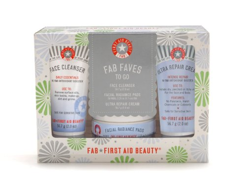 First Aid Beauty FAB Faves to Go Kit (First Aid Cream Kit)