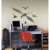 Room Mates RMK2510GM How To Train Your Dragon 2 Astrid & Stormfly Peel And Stick Giant Wall Decals
