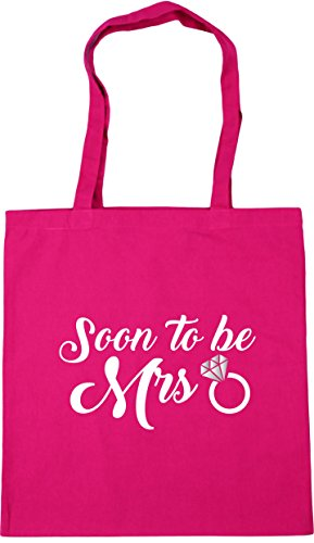 be Bag litres to Fuchsia Gym x38cm Beach 10 42cm Tote Shopping Mrs HippoWarehouse Soon 78OxEE