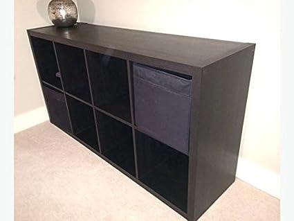 Amazoncom Ikea Drona Storage Bins 4 Pack Black Fits Kallax