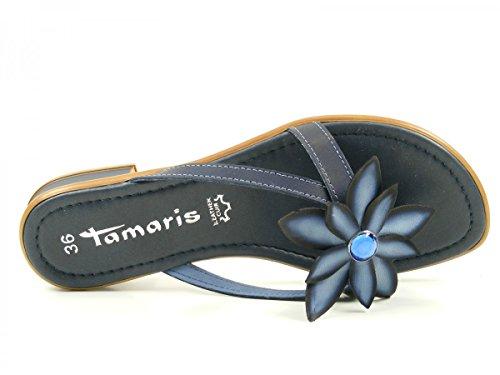 Tamaris 1-27123-28 mujer clogs & mules Blau