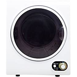 Magic Chef MCSDRY15W Laundry Dryer, 1.5 cu. ft, White