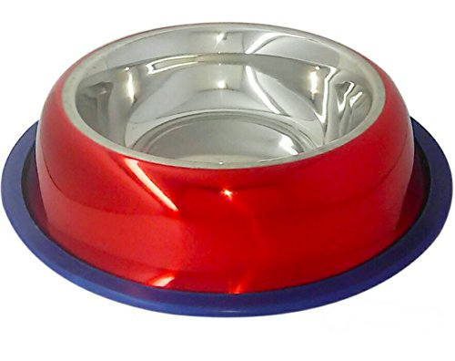 mr-peanuts-premium-high-gloss-lacquer-coated-stainless-steel-dog-bowl-rust-proof-with-non-skid-long-