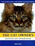 The Cat Owner's Question and Answer Book, Bradley Viner, 0764106481