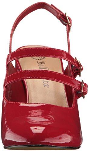 Bella Vita Womens Nessa Ii Dress Pump Red Patent