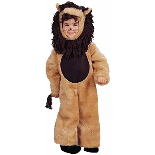 Cute Cowardly Lion Costumes (Child's Cute Lion Halloween Costume (Size: X-Small 4-6))