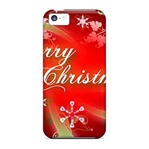 Excellent Iphone 5c Case Tpu Cover Back Skin Protector Merry Christmas